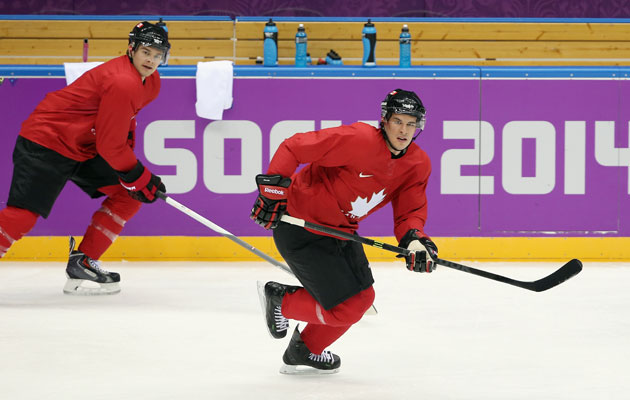 Crosby and Kunitz were matched with Carter on Monday. (Getty Images)