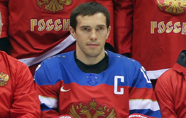 Datsyuk is playing in his fourth Olympic Games for Russia. (Getty Images)