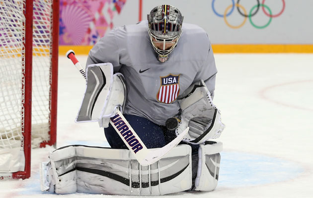 Quick draws the start against Slovakia for the USA. (Getty Images)