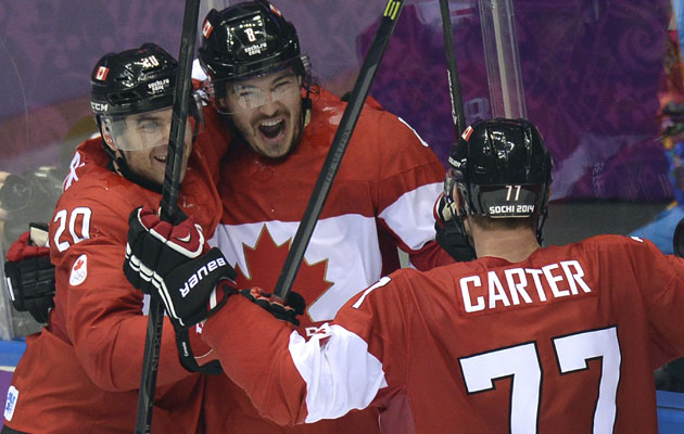 Drew Doughty has four of Canada's 11 goals in Sochi. (Getty Images)