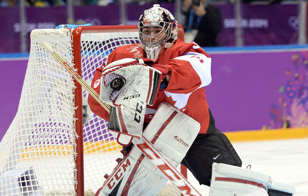 Carey Price gets the nod vs. Finland, looks to be Canada's No. 1. (Getty Images)