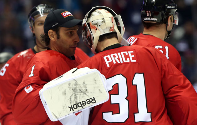 Carey Price will start over Roberto Luongo again. (Getty Images)