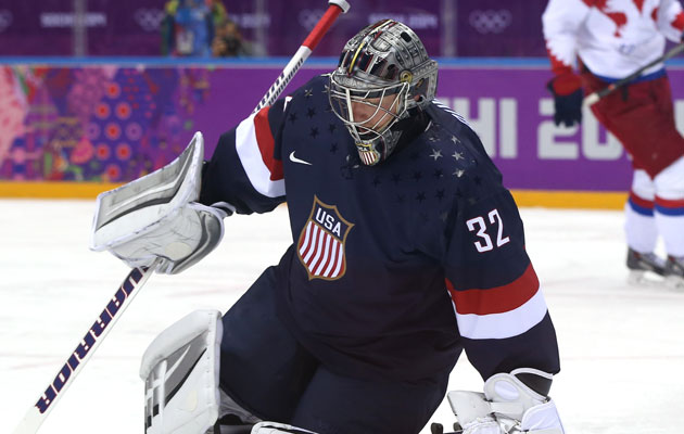 Jonathan Quick started the first two games for the USA. (Getty Images)