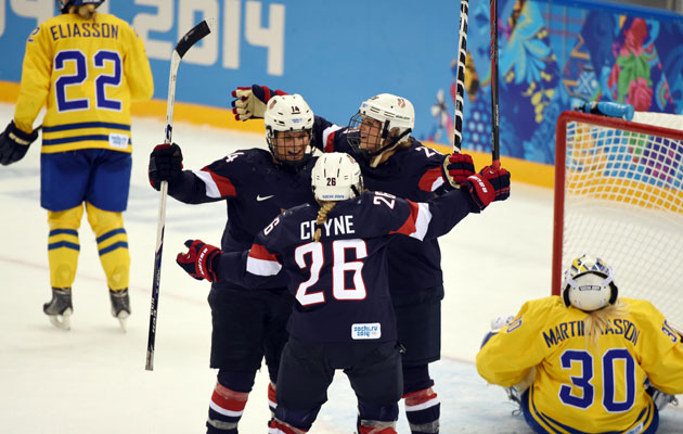 The American women dominated Sweden in the semifinal. (USATSI)