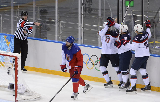 Team USA has to go through the Czech Republic to reach the quarters. (Getty Images)
