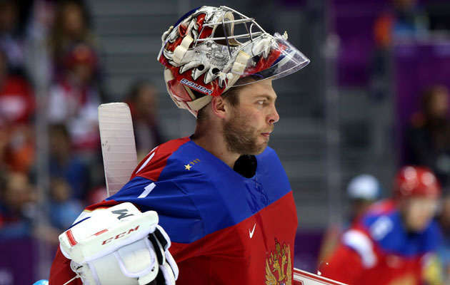 Semyon Varlamov shut out Slovakia in his last start. (Getty Images)