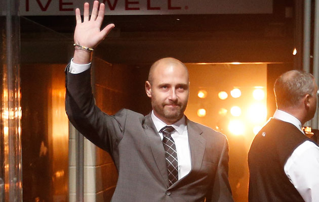 Tomas Vokoun will try to get back in condition to play this season. (Getty Images)