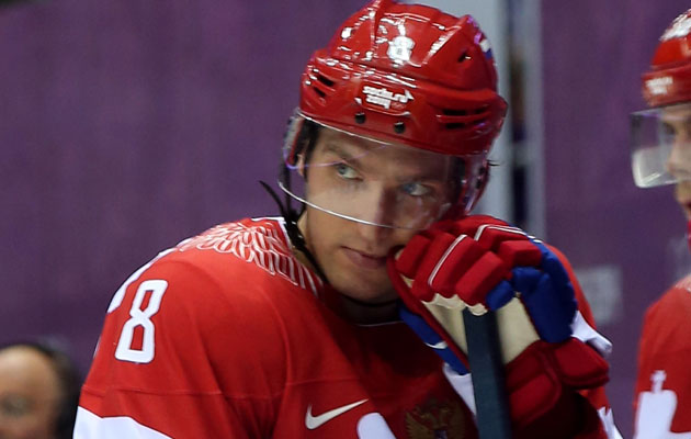 Alex Ovechkin will stay in Russia a little longer. (Getty Images)