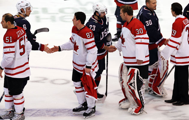 Canada and the USA have seen an increased intensity in their rivalry. (Getty Images)