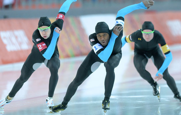 The US men's team was eliminated in the quarterfinals. (Getty Images)