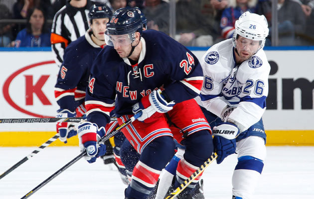 Ryan Callahan is on the block, Martin St. Louis too? (Getty Images)