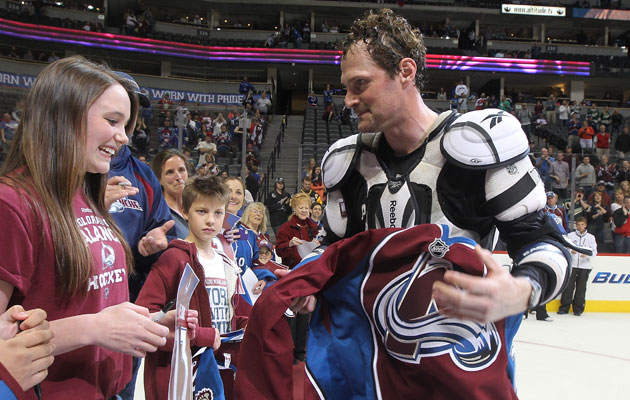 Milan Hejduk spent his entire career with the Avs. (Getty Images)