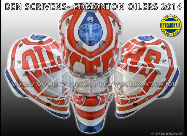 PHOTO: Ben Scrivens has a new Oilers mask with tribute to ...