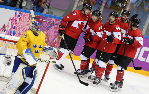 Canada tilted the tournament heavily in its favor with dominant play. (Getty Images)