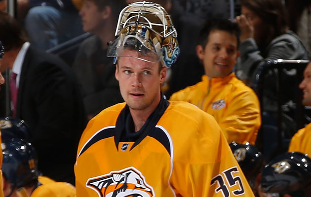 Rinne will return to game action this weekend. (Getty Images)