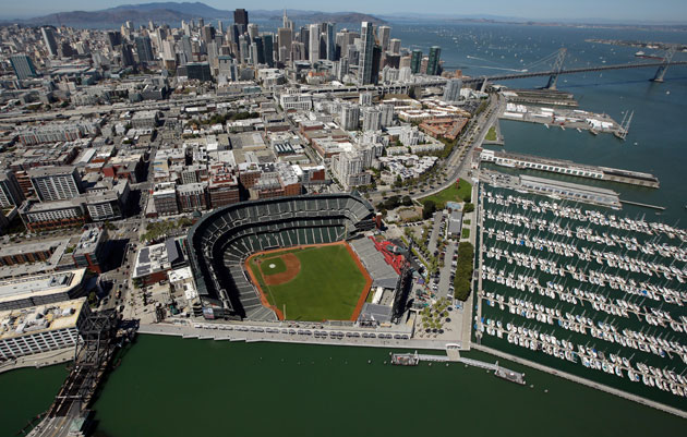 AT&T Park in San Francisco could host hockey. (Getty Images)