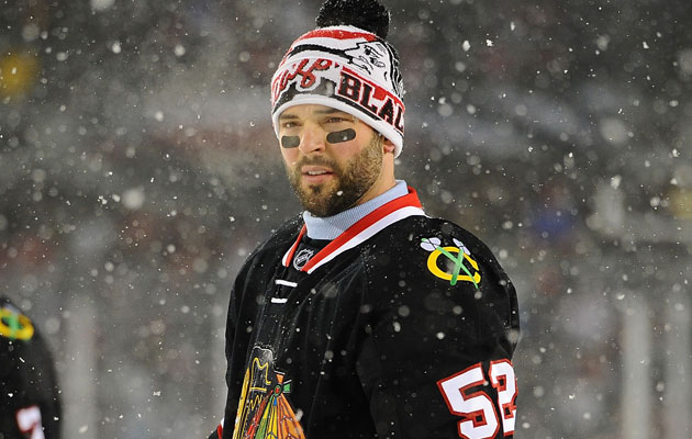Brandon Bollig was set to be a free agent after this season. (Getty Images)