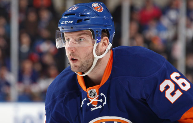 Thomas Vanek has likely played his last game for the Isles. (Getty Images)