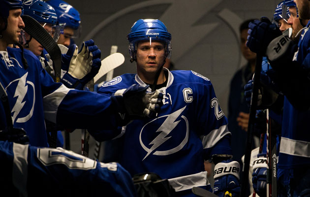 Martin St. Louis spent 14 years in Tampa Bay. (Getty Images)