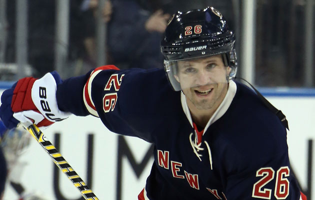 Martin St. Louis got his wish and the Rangers benefitted. (Getty Images)