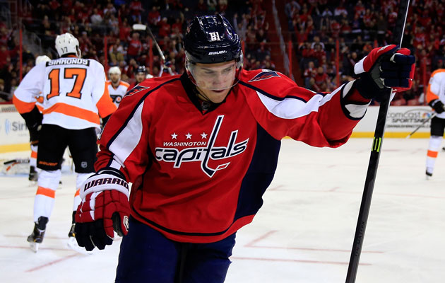 Dmitry Orlov has three goals this season. (Getty Images)