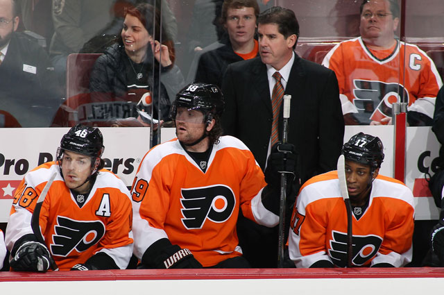 Laviolette's team is sinking. (Getty Images)