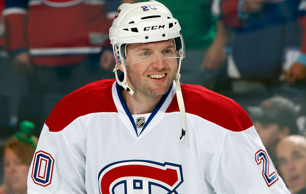 Thomas Vanek seems to like the idea of being a free agent. (Getty Images)