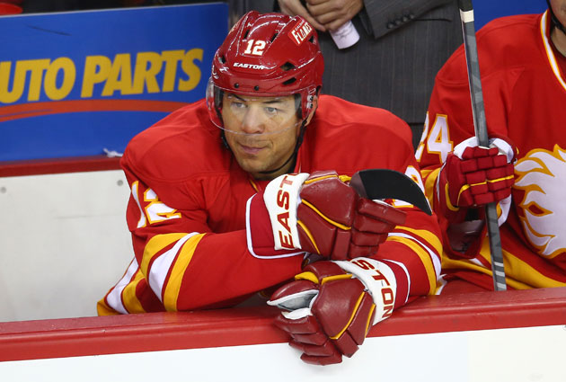There should be a few suitors calling Calgary to see about Iginla. (Getty Images)