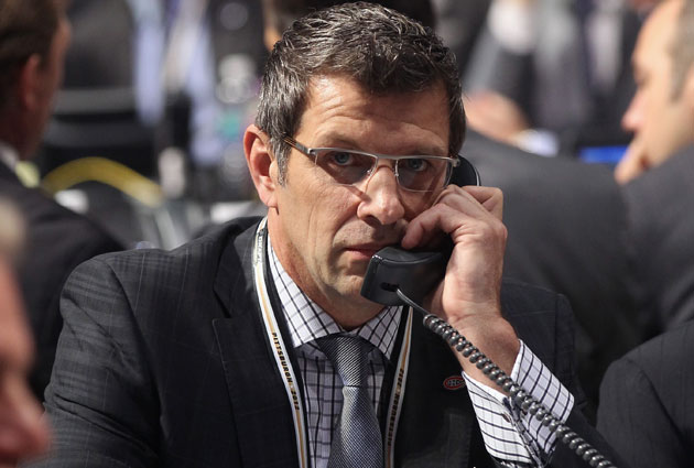 Bergevin probably won't be racking up the telephone minutes. (Getty Images)