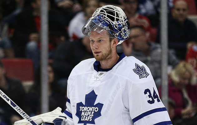 James Reimer is a restricted free agent after this season. (Getty Images)