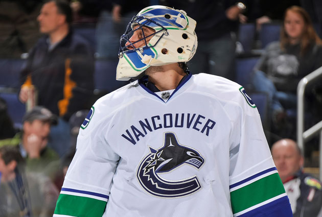 The Luongo talk has quieted down tremendously. (Getty Images)
