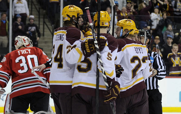 The Gophers are the top seed in the tournament. (Getty Images)