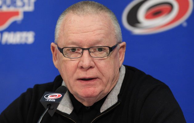 Jim Rutherford took over as GM in 1994. (Getty Images)