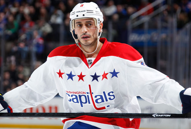 Ribeiro has 10 goals, 24 assists on the season for Washington. (Getty Images)