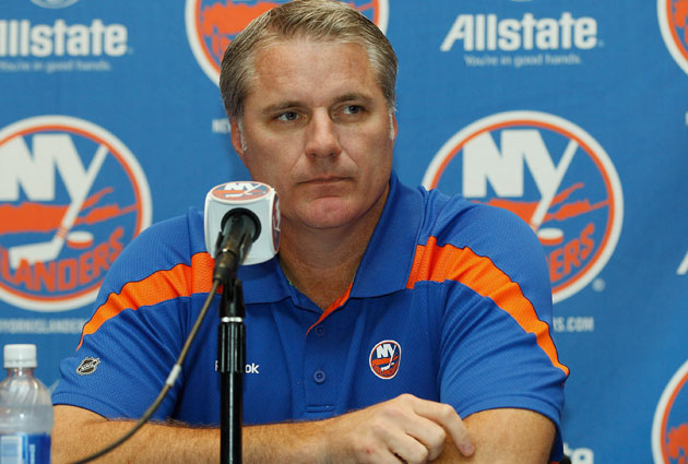 Garth Snow doesn't figure to disrupt the core he has been slowly building. (Getty Images)