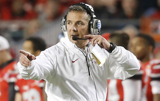 Urban Meyer is joining the Jackets bandwagon. (Getty Images)