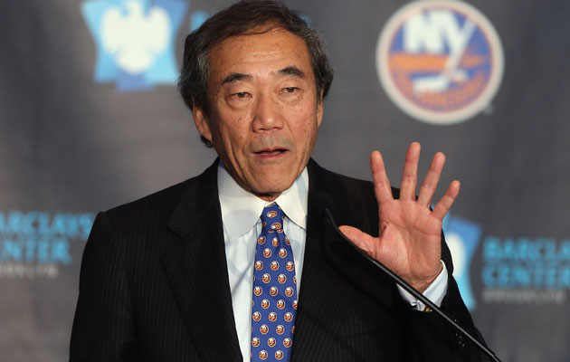 Charles Wang could sell the majority of the Isles soon. (Getty Images)