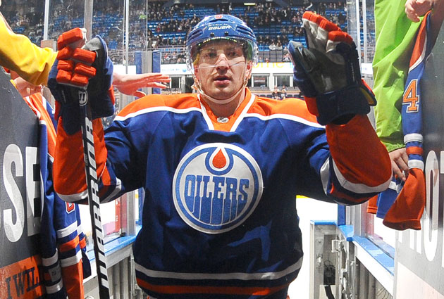 Smid is signed for another four seasons in Edmonton. (Getty Images)