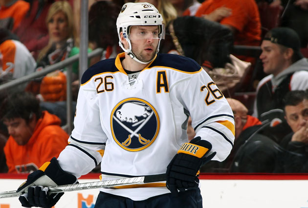 Vanek leads the Sabres with 33 points (16 goals, 17 assists) in 29 games this season. (Getty Images)