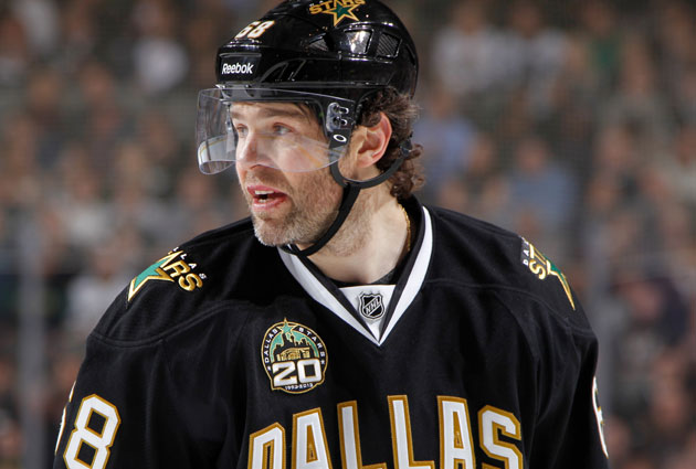 Jagr is joining his sixth franchise in Boston. (Getty Images)
