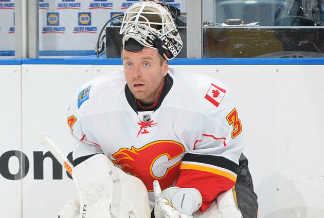 Kiprusoff's future remains in the air. (Getty Images)