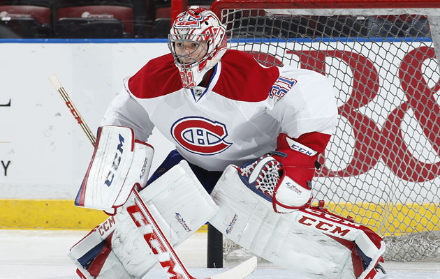 Carey Price is having a career season with the new pads. (Getty Images)