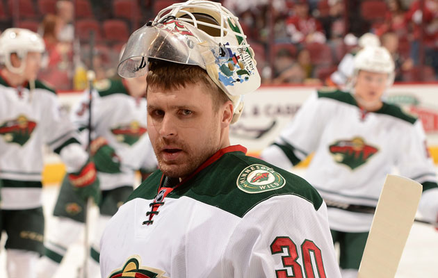 Ilya Bryzgalov signed a one-year deal earlier this season. (Getty Images)