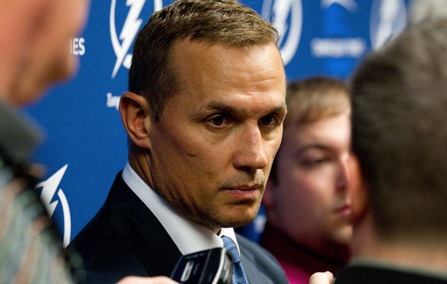 Steve Yzerman will continue to build the Bolts. (Getty Images)