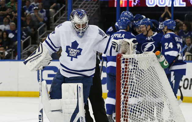 The Maple Leafs will not return to the playoffs this season. (Getty Images)