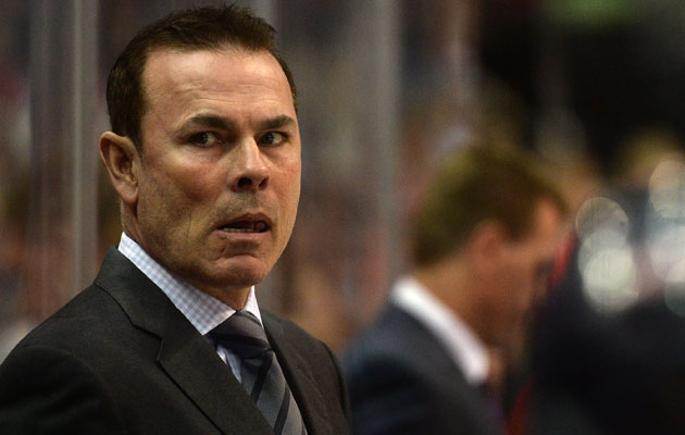Adam Oates is under fire from Halak's agent. (Getty Images)