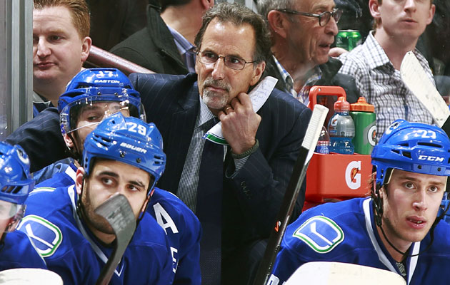 Will John Tortorella get a second season in Vancouver? (Getty Images)