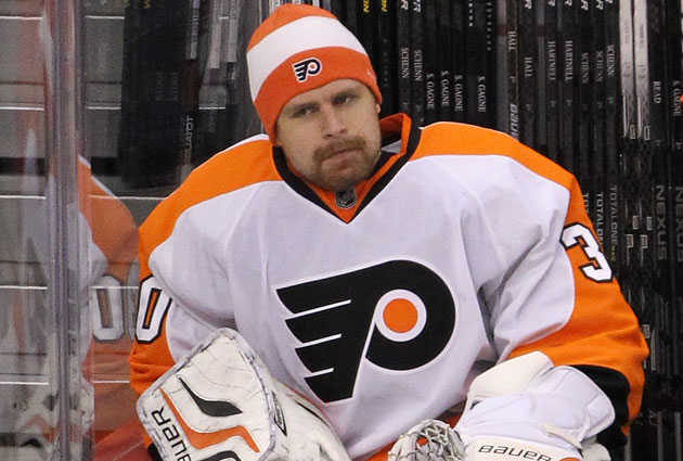 Bryzgalov could be an amnesty target, but he doesn't care about the rumors. (Getty Images)
