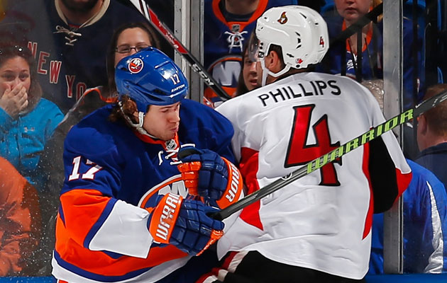 The Sens and Isles were playoff teams last season; not this time. (Getty Images)