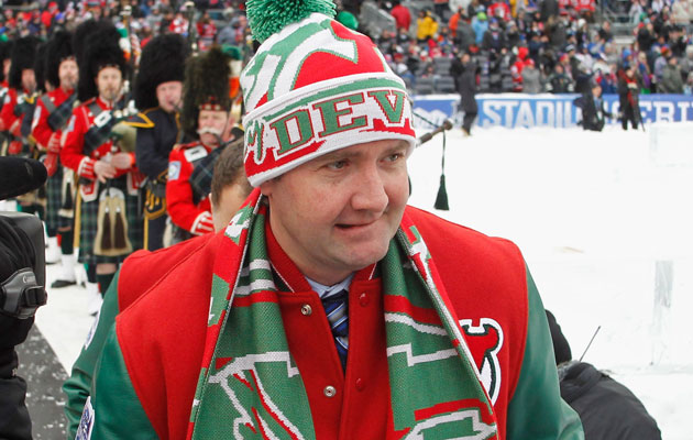 Pete DeBoer has been in New Jersey for three seasons. (Getty Images)